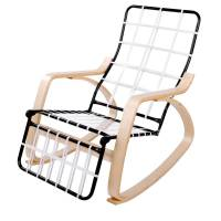 Birch Plywood Rocking Armchair in Black | Buy Rocking Chairs