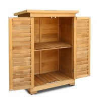 Gardeon Portable Wooden Garden Storage Cabinet | Buy ...