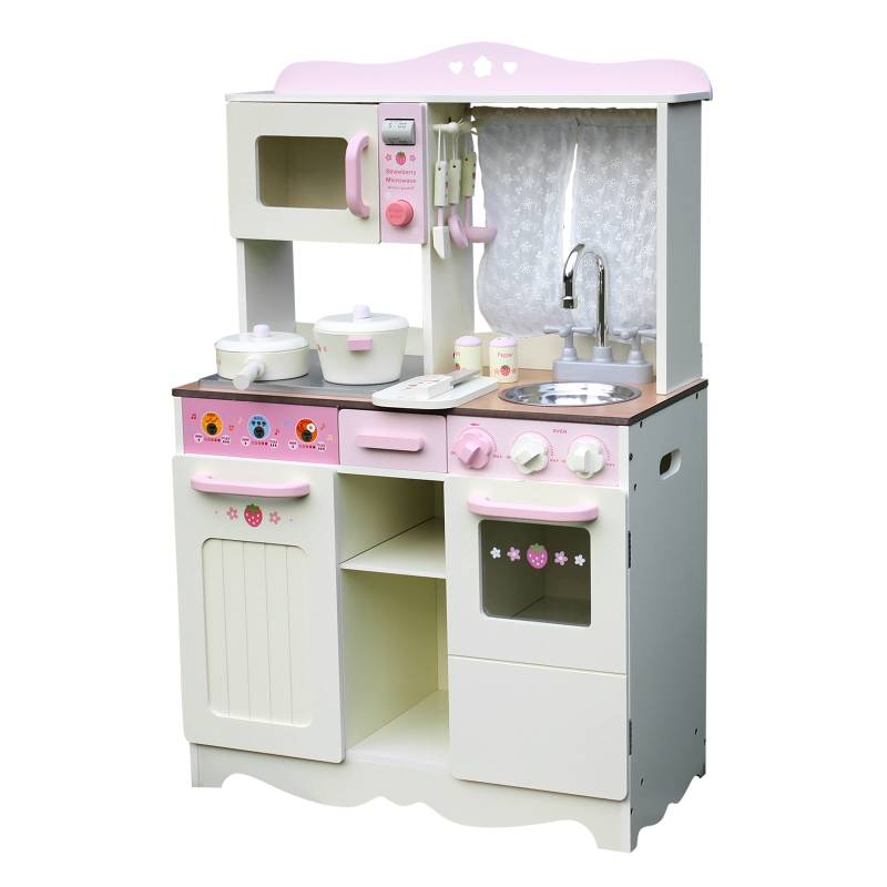 Keezi Kids Kitchen Play Set  Off White  Buy Play