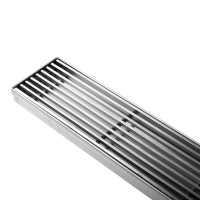 Heelguard Stainless Steel Slim Shower Grate 100cm | Buy ...