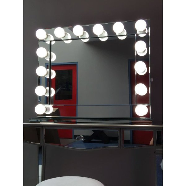 Hollywood Vanity Makeup Mirror With 14 Led Lights