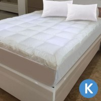Luxo King Microfibre Pillow Top Mattress Topper | Buy King ...