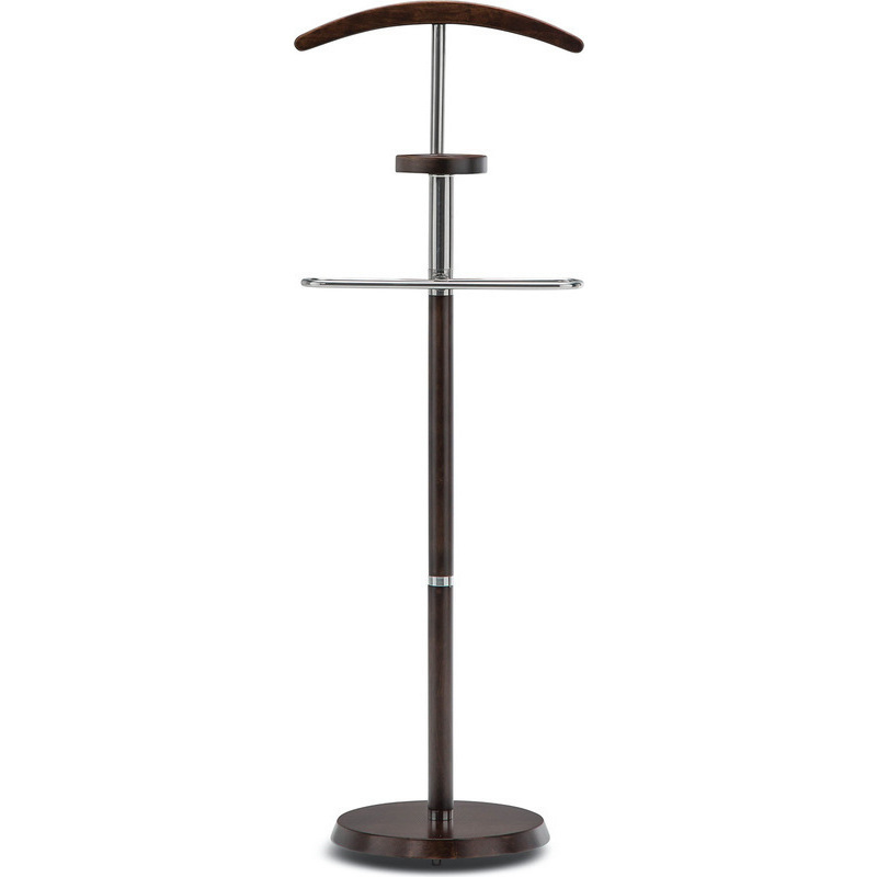 mens chair valet stand kids indoor table and chairs timber men's clothing in espresso 138cm | buy clothes valets