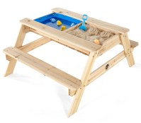 Plum Kids Wooden Picnic Table with Sand and Water | Buy ...
