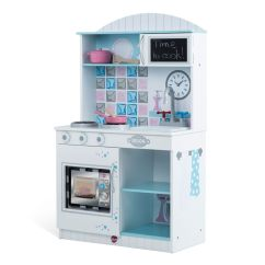 Wooden Kids Kitchen Knotty Pine Cabinets For Sale Plum Toys Play In Snowdrop Buy Kitchens H M S Remaining