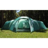 10 Man Family Camping Dome Tent with 4 Rooms | Buy Tents ...