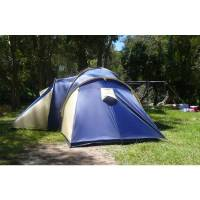 Huntsman 6 Man Dome Tent with 4 Separate Rooms | Buy Tents