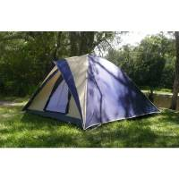 Huntsman 6 Man Dome Tent with Bag, Guy Ropes & Pegs | Buy ...
