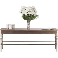 Minimal Rustic Wrought Iron & Wood Coffee Table | Buy ...