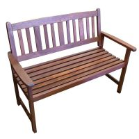 Outdoor 2 Seat Wooden Garden Chair Park Bench | Buy ...