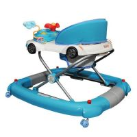 Blue Car Baby Walker Rocker or Activity Centre