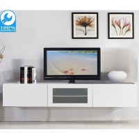 Glacia Floating TV Cabinet in High Gloss White 1.8m | Buy ...