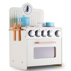 Solid Wood Toy Kitchen Motionsense Faucet White Kids Play Set Buy Kitchens H M S Remaining