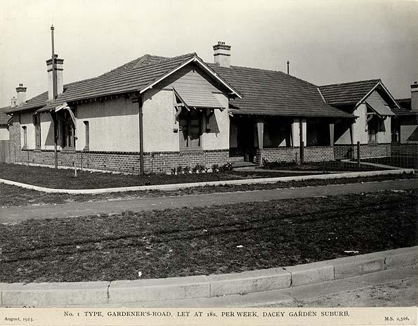 Photographs Of Dacey Garden Suburb (Daceyville)