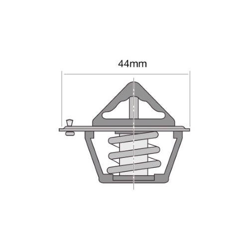 Tridon Thermostat TT239-180 fits Daihatsu Mira 0.7