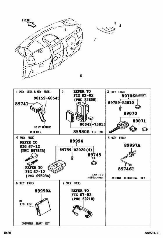 PartsWorld : Computerse.c.u parts for Daihatsu Sirion