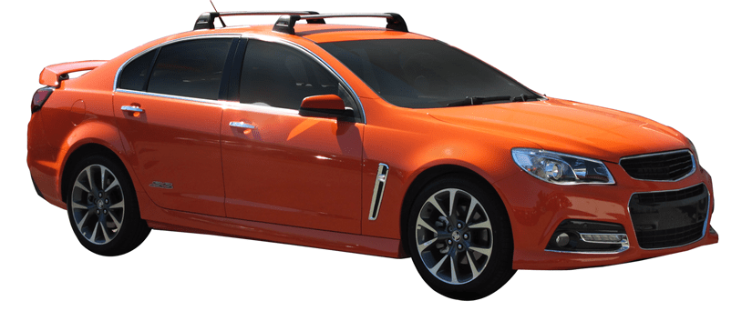 Holden Commodore VE/VF Sedan 08/06on Whispbar Roof Racks