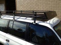 Steel Off Road Heavy Duty Roof Rack NH-NL Pajero Wagon 2.2 ...