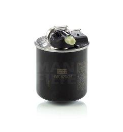 mann fuel filter wk820 14 fits mercedes benz m class ml 300 cdi [ 2154 x 1845 Pixel ]
