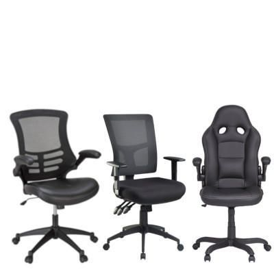revolving chair spare parts steel frame suppliers office chairs seating officeworks