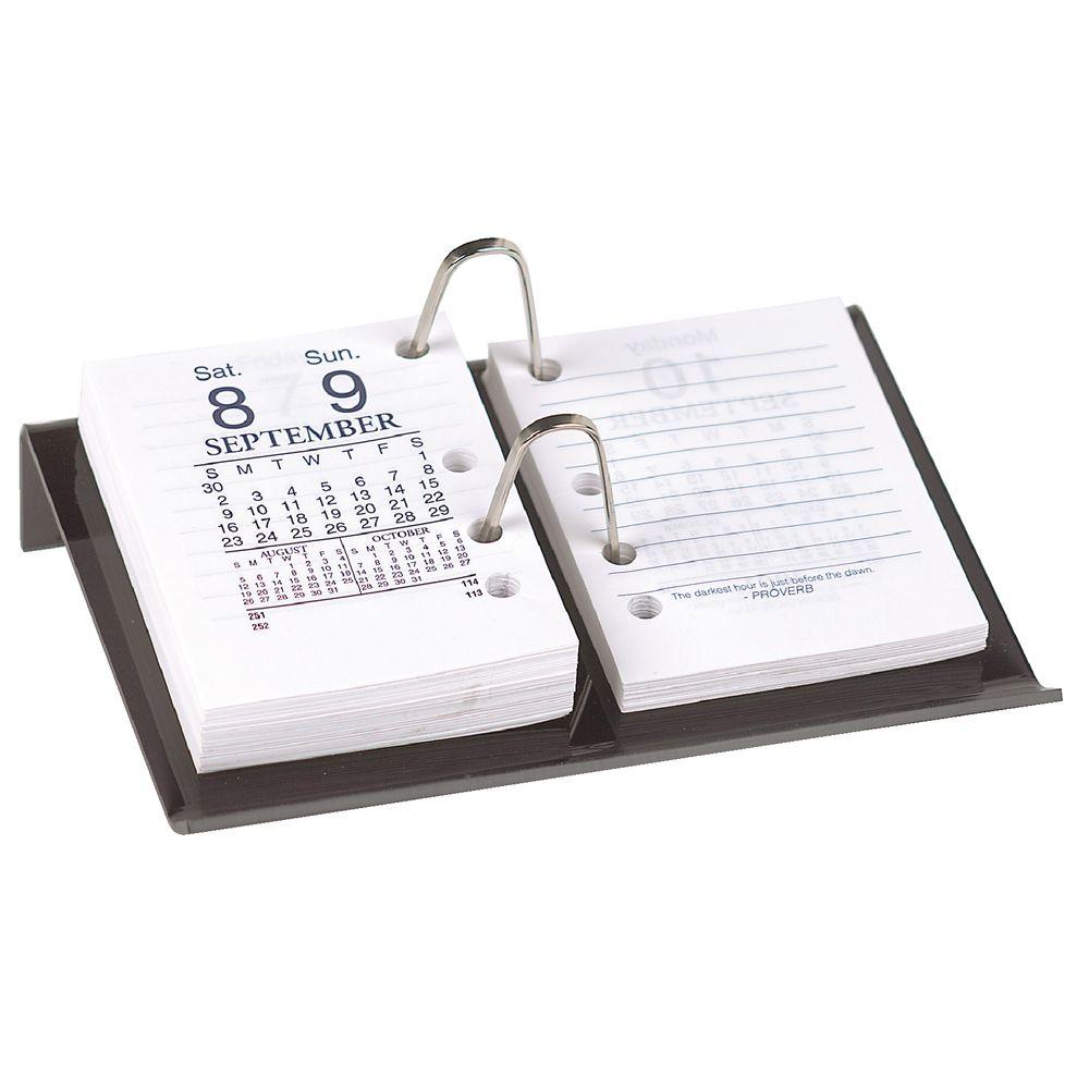 Sasco Side Hole Calendar Desk Stand  eBay