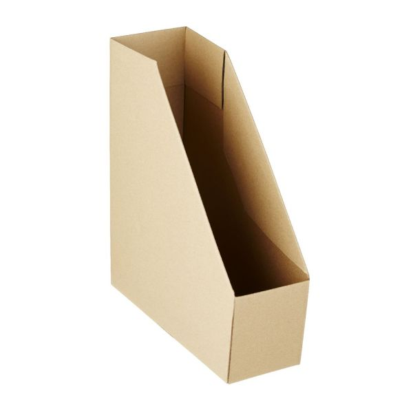 Collapsible Cardboard Magazine File Kraft Officeworks