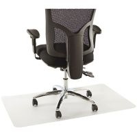 Floortex Hardfloor Rectangle 750x1200 Chair Mat | Officeworks