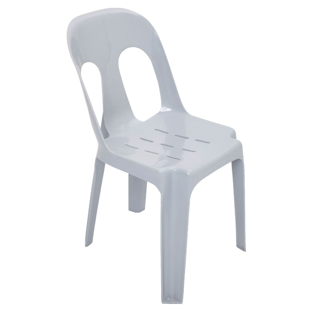 White Stackable Chairs Rapidline Pipee Stacking Chair White