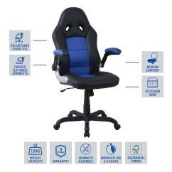 Race Car Chair Officeworks Ergonomic To Buy Bathurst Red
