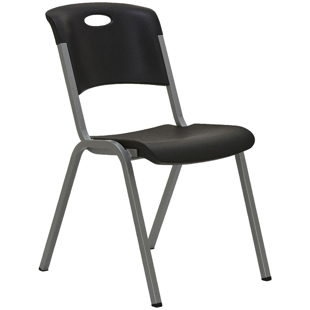 Lifetime Chair Lifetime Stackable Chair Black