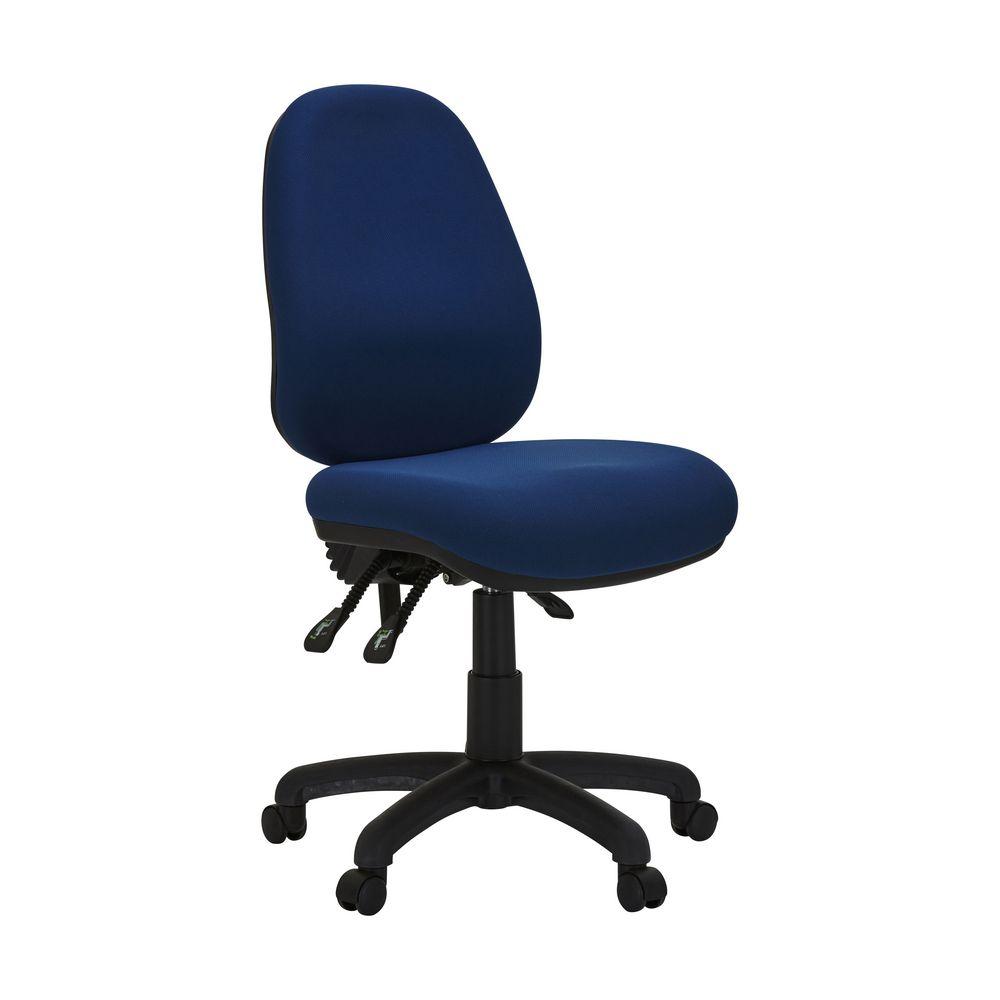 office chair adjustment levers kids desk with matrix high back 3-lever blue   officeworks