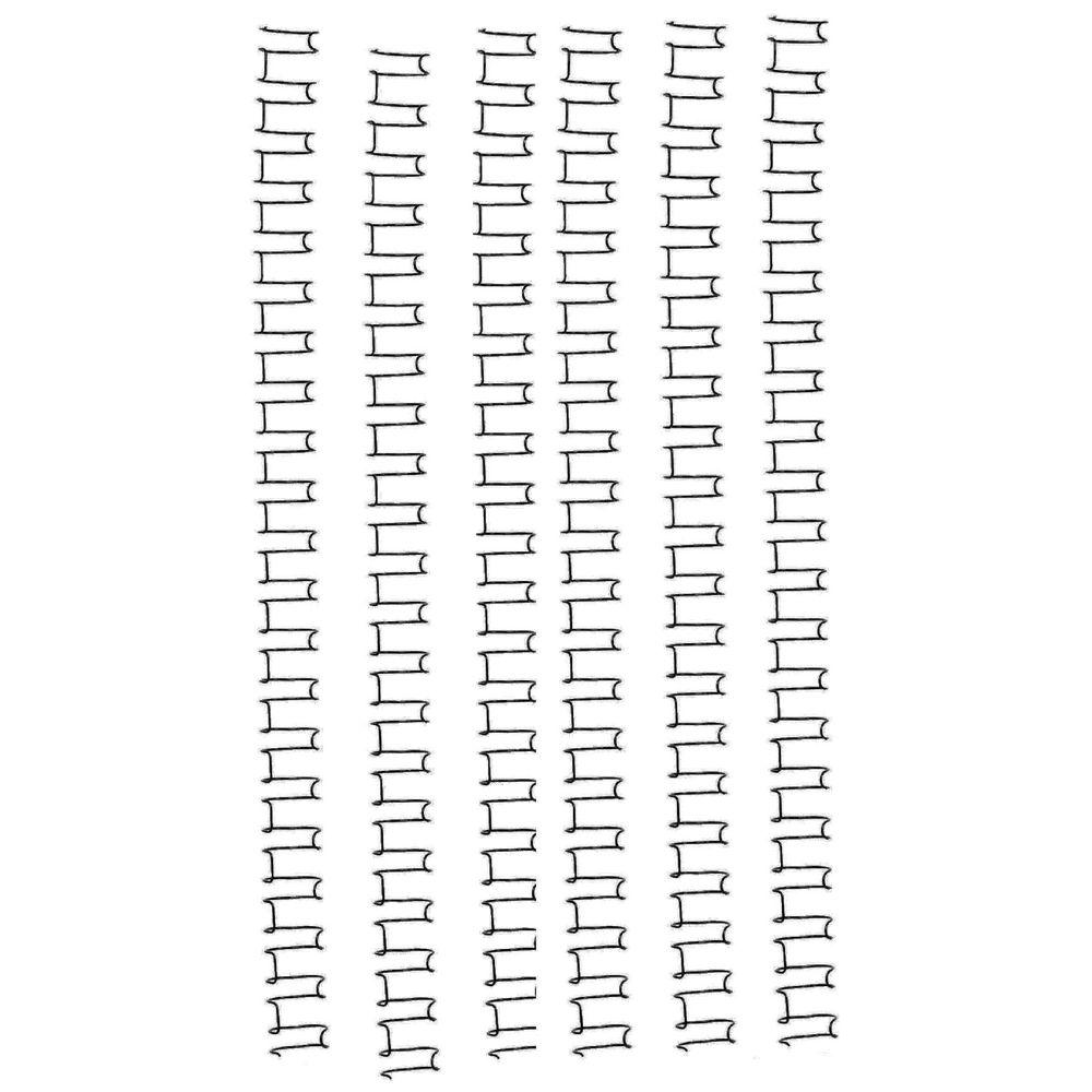 GBC Binding Coil 21 Loop Wire 10mm Black 100 Pack