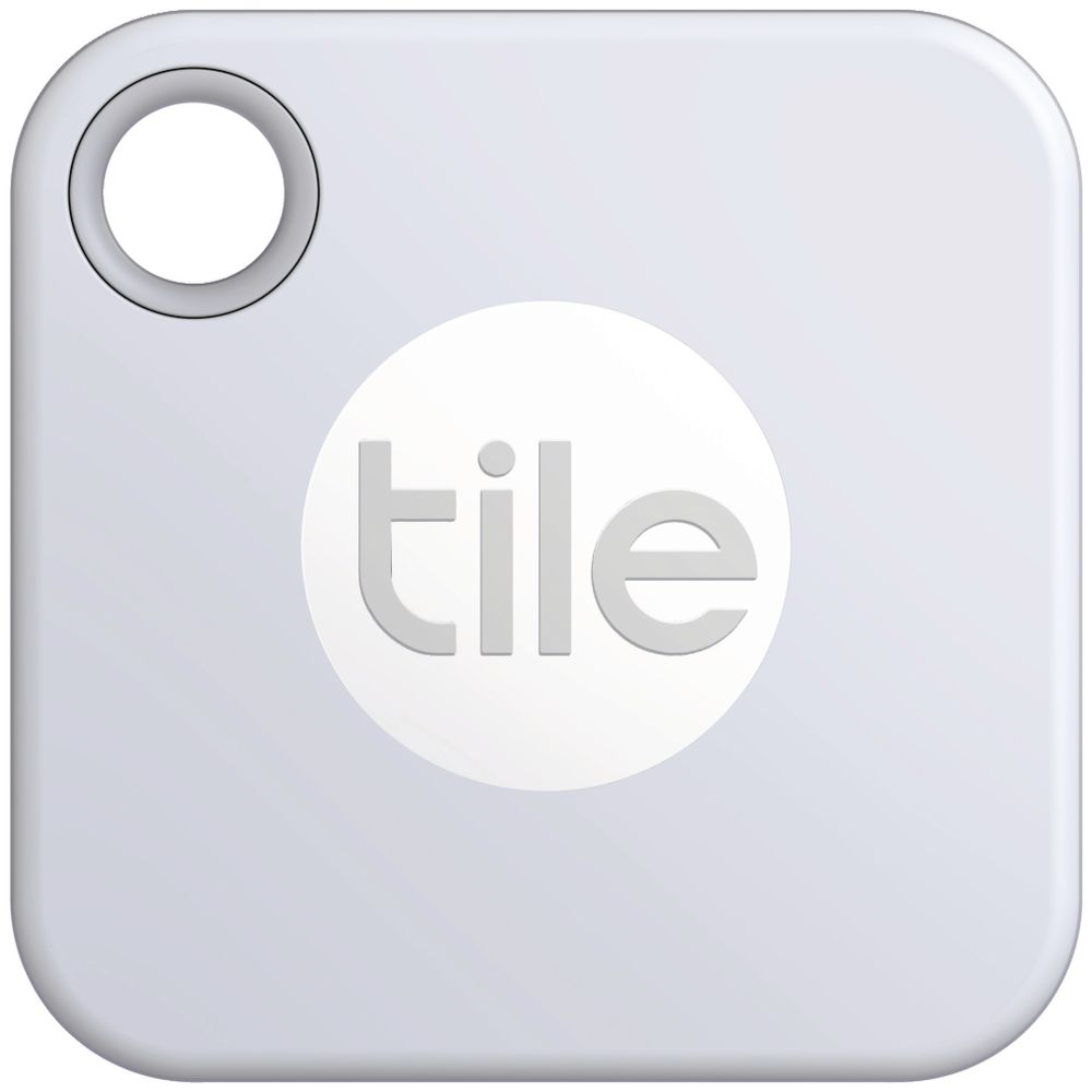 tile mate bluetooth tracker white