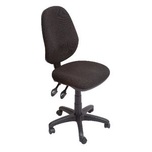 ergonomic chair levers exercise justin timberlake rapidline operator high back 3 lever black officeworks