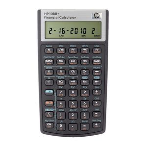 hp financial calculator black