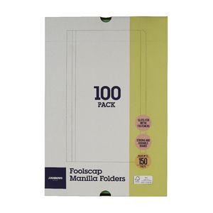 JBurrows Manila Folder Foolscap Green 100 Pack Officeworks