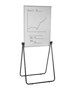 Ucomm portable flipchart easel board also officeworks rh