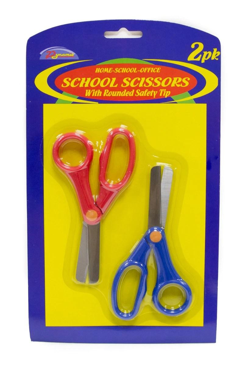 Rounded School Scissors