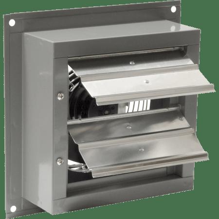 canarm 8 in variable speed ec motor shutter mounted exhaust fan