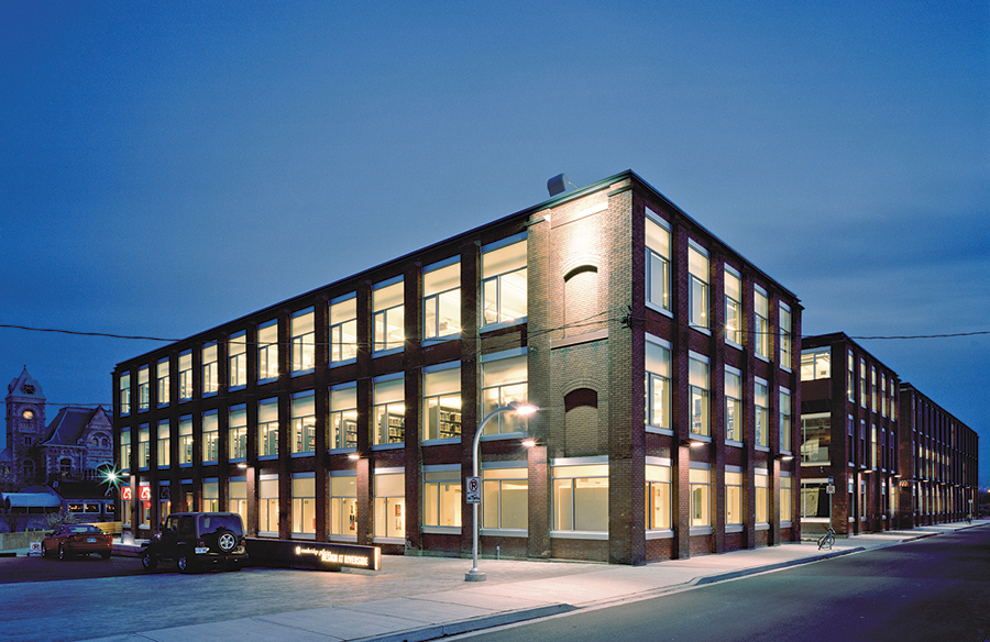 Founded On Factories  Canadian Architect