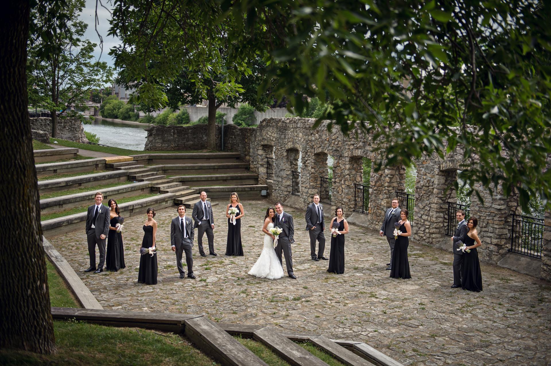 James  Lauren  Cambridge Mill Wedding Photography