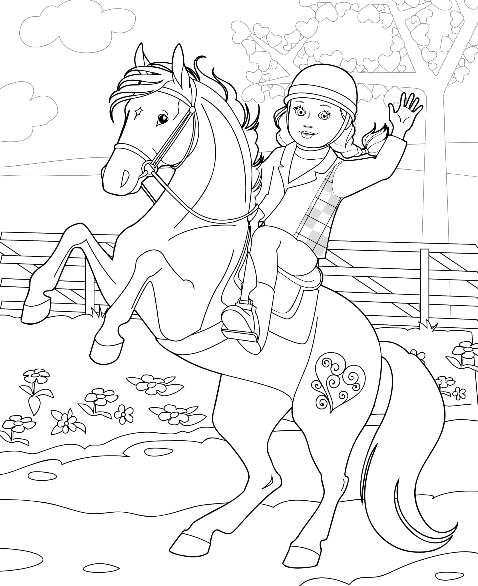 Doll Coloring Books