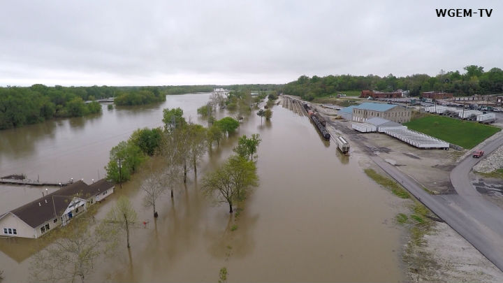 Disaster Proclamation Issued For Flooding In 34 Illinois