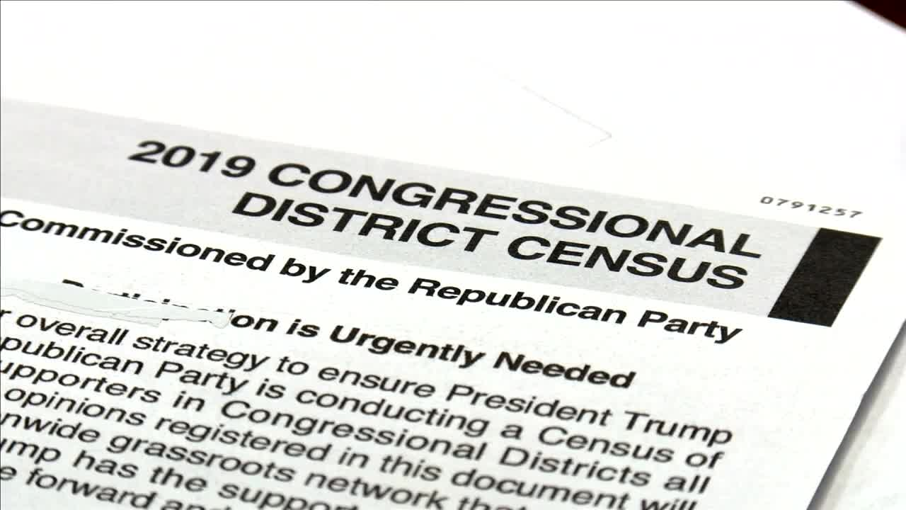 Republican party mails Census-like fundraising survey; few