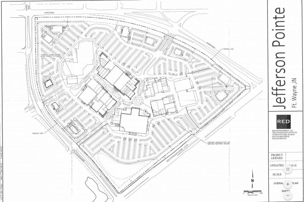Developers propose road through middle of Jefferson Pointe