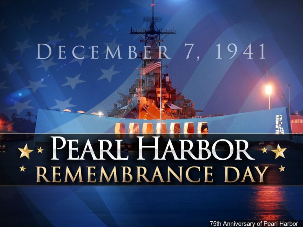 The Decc To Host Pearl Harbor Remembrance Day Ceremony