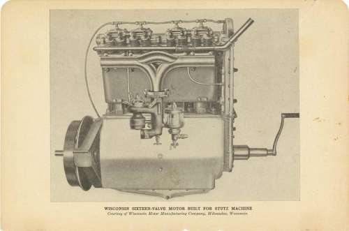 small resolution of stutz wisconsin sixteen valve motor built for stutz machine 8 5 5 gc