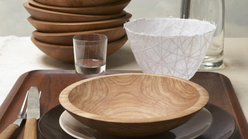 Platos de madera una vajilla de lo ms extica  WESTWING