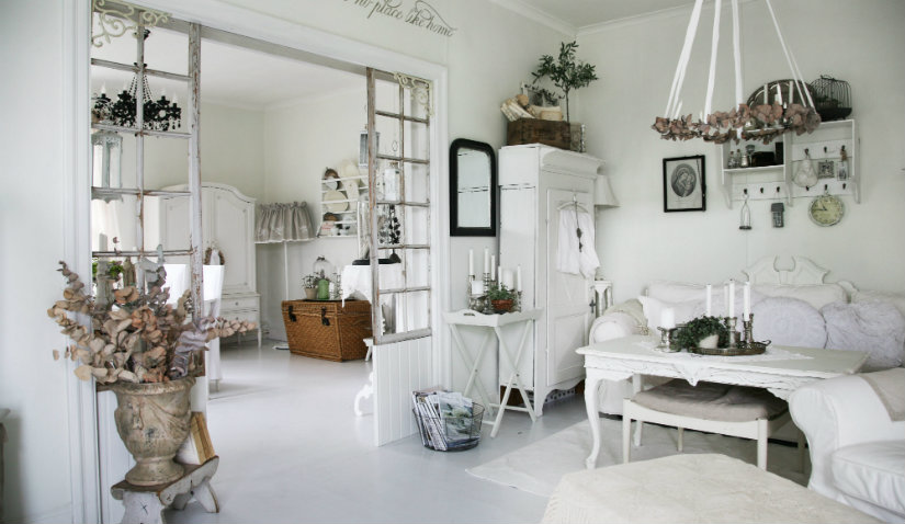 Salones shabby chic clsicos y muy actuales  WESTWING