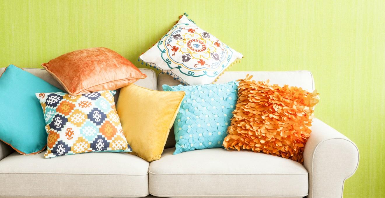 DALANI  Cuscini tessili per la casa colorati e versatili